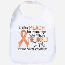 Uterine Cancer MeansWorldToMe2 Bib
