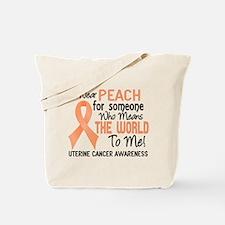 Uterine Cancer MeansWorldToMe2 Tote Bag