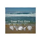 Beach themed Blankets