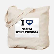 I love Salem West Virginia Tote Bag