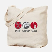 Eat Sleep Saxophone Tote Bag