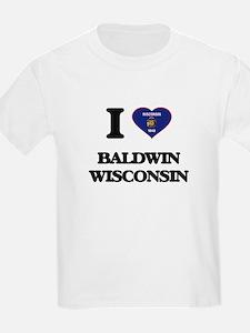 I love Baldwin Wisconsin T-Shirt
