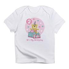 Teddy Bear Birthday 2nd Infant T-Shirt