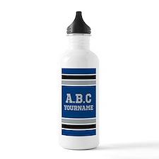Blue Black Sports Jers Water Bottle