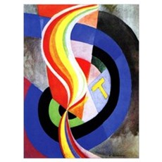 Delaunay - Helice Poster