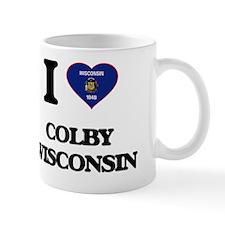 I love Colby Wisconsin Mug