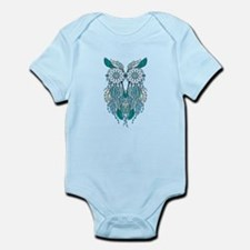 Blue dreamcatcher owl Body Suit