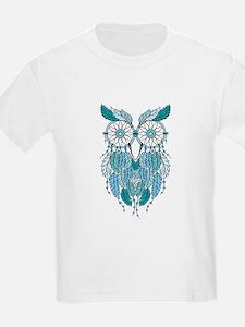 Blue dreamcatcher owl T-Shirt