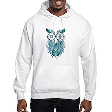 Blue dreamcatcher owl Hoodie