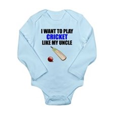 Cricket Like My Uncle Body Suit