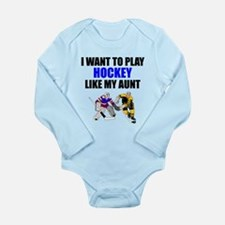 Hockey Like My Aunt Body Suit