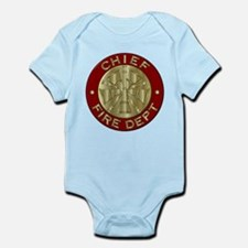 Fire chief brass sybol Body Suit
