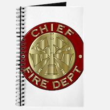Fire chief brass sybol Journal