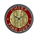 Fire department Wall Clocks