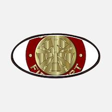 Fire chief brass sybol Patch