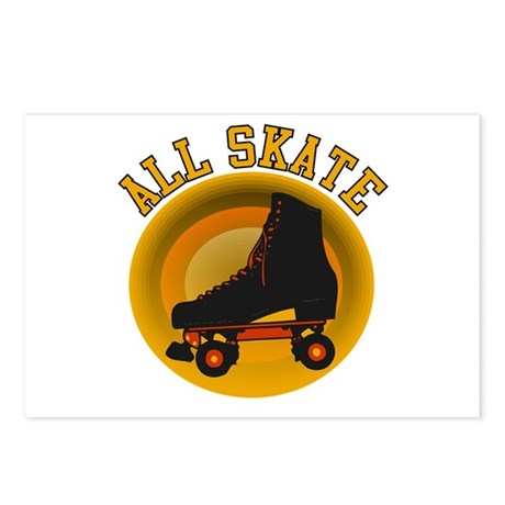 Scott Designs All Skate Postcards (Package of 8)