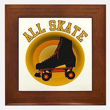 Scott Designs All Skate Framed Tile