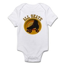 Scott Designs All Skate Infant Bodysuit