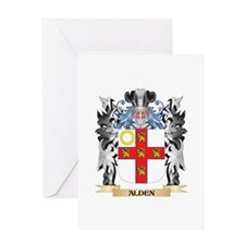 Alden Coat of Arms - Family Crest Greeting Cards