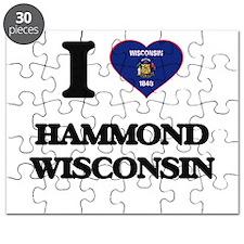 I love Hammond Wisconsin Puzzle