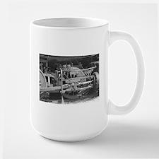 Old train black and white Mugs