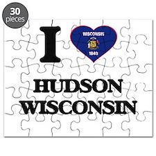 I love Hudson Wisconsin Puzzle