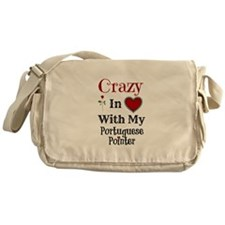 Cute Portuguese pointer Messenger Bag