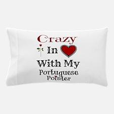 Cute Portuguese pointer Pillow Case