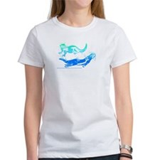 Otters Aquamarine Tee