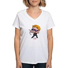 Chibi Hawkeye Stylized Shirt