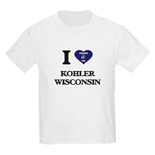 I love Kohler Wisconsin T-Shirt
