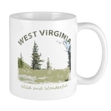 West Virginia Small Mugs
