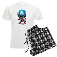 Chibi Captain America Stylize Pajamas
