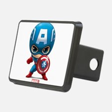 Chibi Captain America Styl Hitch Cover