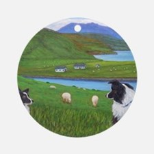 Skye Watch Round Ornament