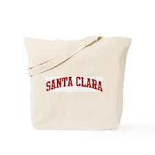 SANTA CLARA (red) Tote Bag