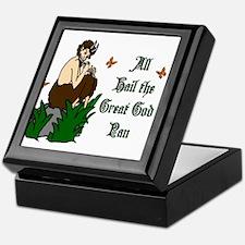 All Hail the Great God Pan Keepsake Box