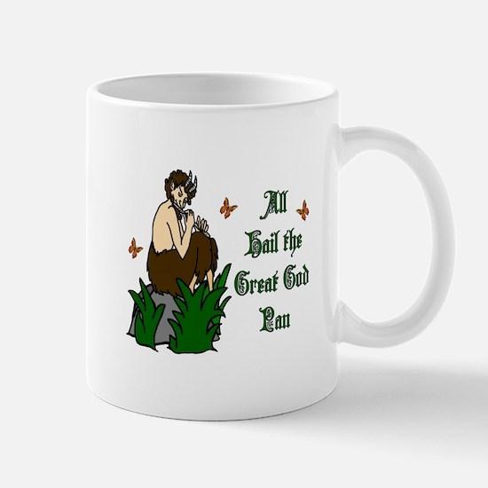 All Hail the Great God Pan Mugs