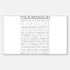 Cute Montessori Decal