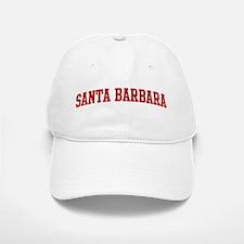 SANTA BARBARA (red) Baseball Baseball Cap