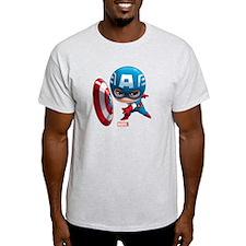 Chibi Captain America Stylized T-Shirt