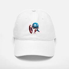 Chibi Baseball Baseball Captain America Stylized Baseball Baseball Cap