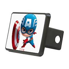 Chibi Captain America Styl Hitch Cover