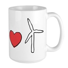 Earth Loves Wind Mugs