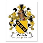 Welsch Family Crest  Small Poster