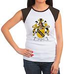Welsch Family Crest  Women's Cap Sleeve T-Shirt