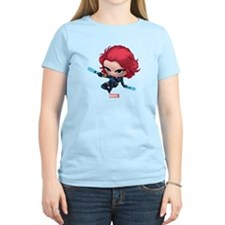 Chibi Black Widow Stylized 2 T-Shirt
