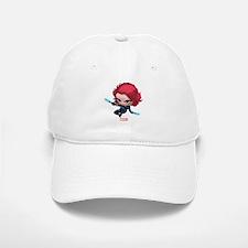 Chibi Black Widow Stylized 2 Baseball Baseball Cap