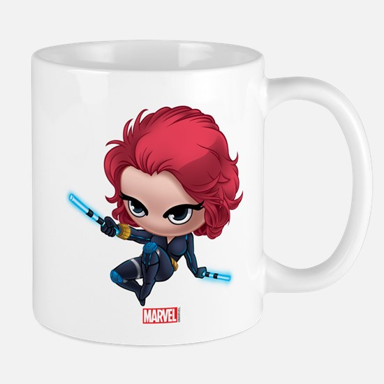 Chibi Black Widow Stylized 2 Mug
