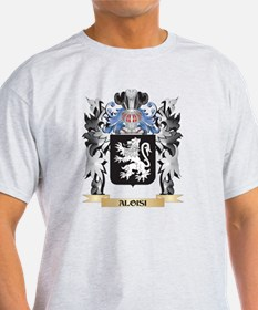 Aloisi Coat of Arms - Family Crest T-Shirt